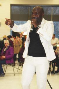 Malichi performing
